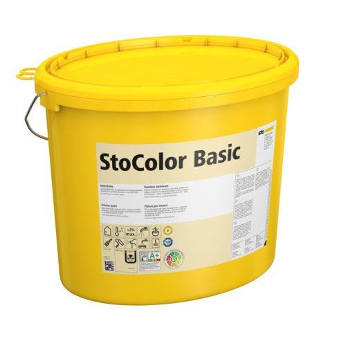 Beltér, Festékek, StoColor Basic, beltéri diszperziós festék, 15 l, fehér, 00039-001