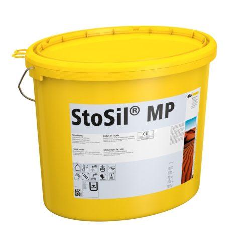 Homlokzat, Hőszigetelő rendszerek, Vékonyvakolatok, StoSil® MP, merev fedővakolat, 25 kg, fehér, 001