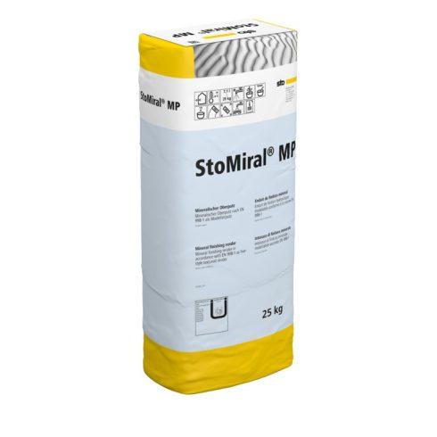 Beltér, Vékonyvakolatok, StoMiral® MP, bel-és kültéri fedővakolat, 25 kg, fehér, 00113-020