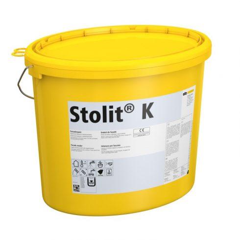 Homlokzat, Hőszigetelő rendszerek, Vékonyvakolatok, Stolit® K kültéri fedővakolat, 25 kg, fehér, 001