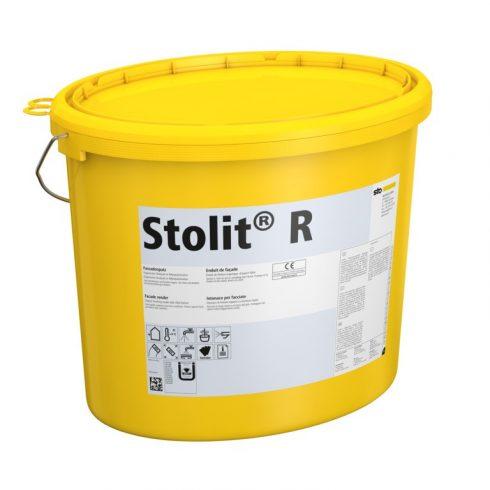 Homlokzat, Hőszigetelő rendszerek, Vékonyvakolatok, Stolit® R kültéri fedővakolat, 25 kg, fehér, 001