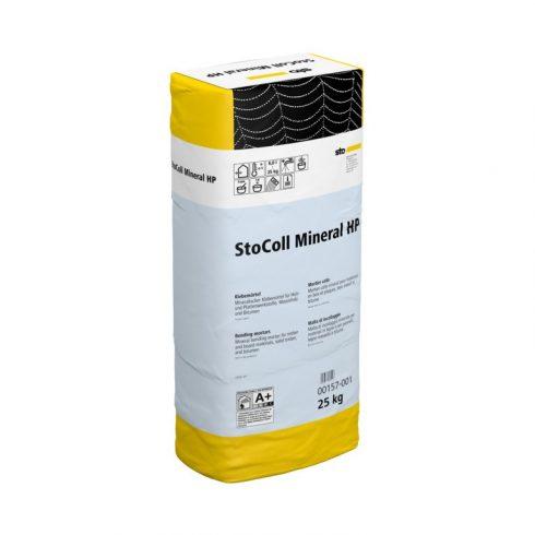 Homlokzat, Átszellőztetett homlokzatburkolatok, Hálóágyazó anyagok, StoColl Mineral HP, ragasztóhaba