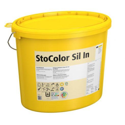 Beltér, Festékek, StoColor Sil In, szilikát bázisú festék, 15 l, fehér, 00206-006