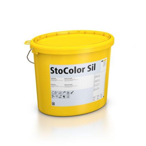 Homlokzat, Homlokzatfestékek, StoColor Sil, diszperziós festék, 15 l, matt fehér, 00207-014