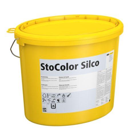 Homlokzat, Homlokzatfestékek, StoColor Silco X-black, szilikongyanta bázisú festék, 15 l, , 00217-10