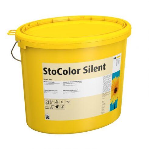 Akusztika, Vakolatrendszerek, StoColor Silent weiss, javító festék, 15 liter, fehér (Régi nevén: Sto