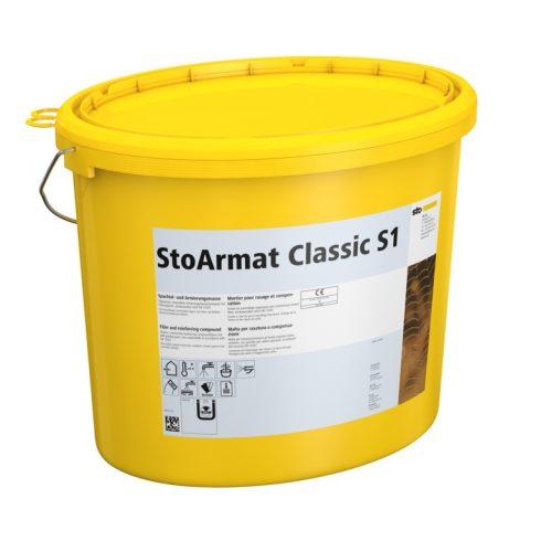 Homlokzat, Átszellőztetett homlokzatburkolatok, Hálóágyazó anyagok, StoArmat Classic S1, ágyazóhabar