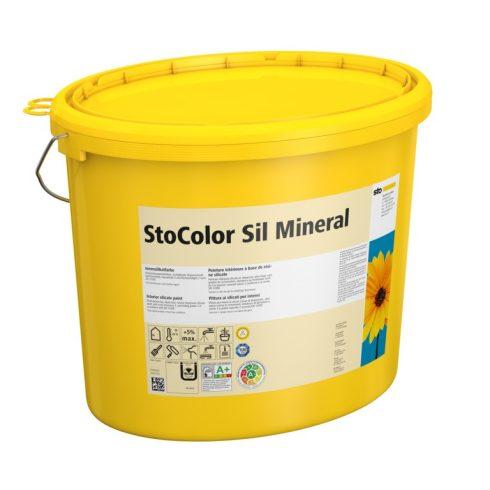 Beltér, Festékek, StoColor Sil Mineral, szilikát bázisú festék, 15 l, fehér, 00292-001