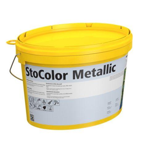 Beltér, Festékek, StoColor Metallic (3.szín), kül- és beltéri festék, 10 l, színezett, 00319-004