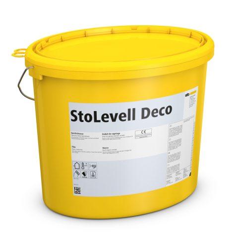 Homlokzat, Hőszigetelő rendszerek, Ragasztók, hálóágyazó anyagok, StoLevell Deco, javítóhabarcs, 25