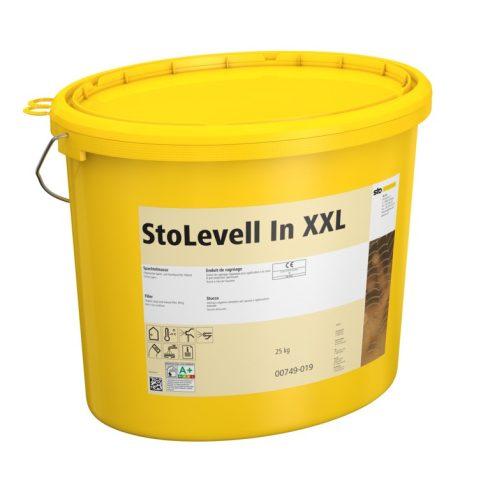 Beltér, Glettek, alapvakolatok, StoLevell In XXL, szerves bázisú glett, 25 kg (vödör), naturfehér, 0