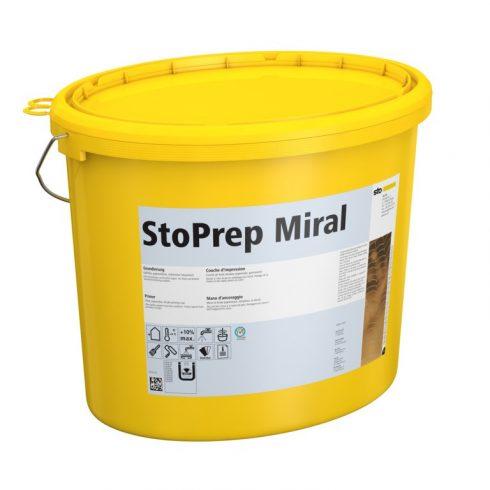 Homlokzat, Alapozók, StoPrep Miral, kültéri alapozó, 25 kg, fehér, 00804-001