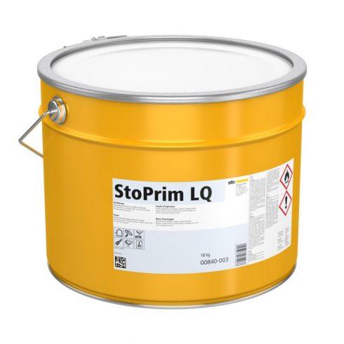 Homlokzat, Alapozók, StoPrim LQ, oldószeres szigetelő alapozó, 18 kg, fehér, 00840-003