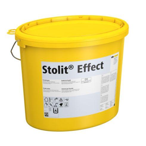 Homlokzat, Hőszigetelő rendszerek, Vékonyvakolatok, Stolit® Effect X-black, kültéri fedővakolat X-bl