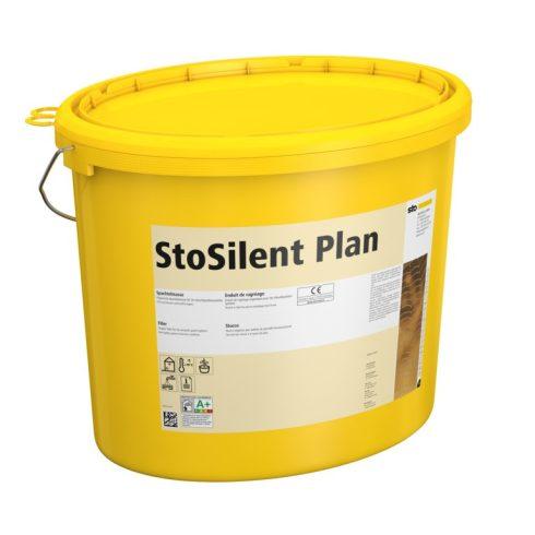 Akusztika, Felületfolytonos akusztikai panelrendszerek, StoSilent Plan, glettanyag, 5 kilogramm, feh