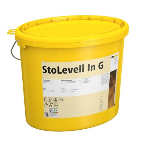 Beltér, Glettek, alapvakolatok, StoLevell In G, durvaglett, 25 kg, naturfehér, 01230-001