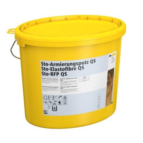 Homlokzat, Átszellőztetett homlokzatburkolatok, Hálóágyazó anyagok, Sto-Armierungsputz QS, ágyazóhab