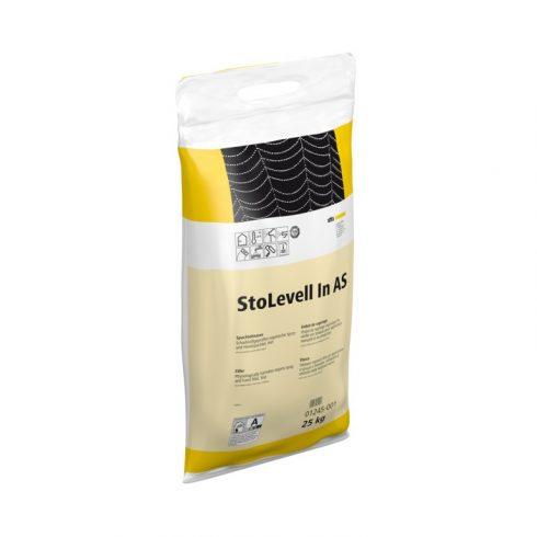 Beltér, Glettek, alapvakolatok, StoLevell In AS Sack, finomglett, 25 kg, naturfehér, 01245-001