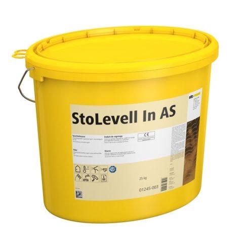 Beltér, Glettek, alapvakolatok, StoLevell In AS Eimer, finomglett, 25 kg, naturfehér, 01245-003