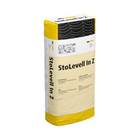 Beltér, Glettek, alapvakolatok, StoLevell In Z, cementhabarcs glett, 20 kg, világosszürke, 01276-006