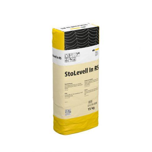 Beltér, Glettek, alapvakolatok, StoLevell In RS, beltéri cementes glettanyag, 15 kg, világosszürke,