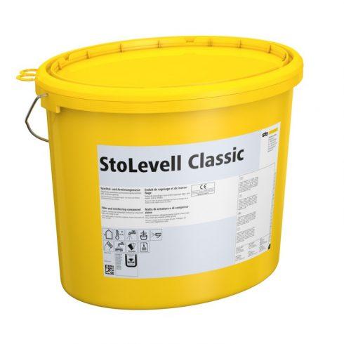 Homlokzat, Hőszigetelő rendszerek, Ragasztók, hálóágyazó anyagok, StoLevell Classic, ágyazó-és ragas