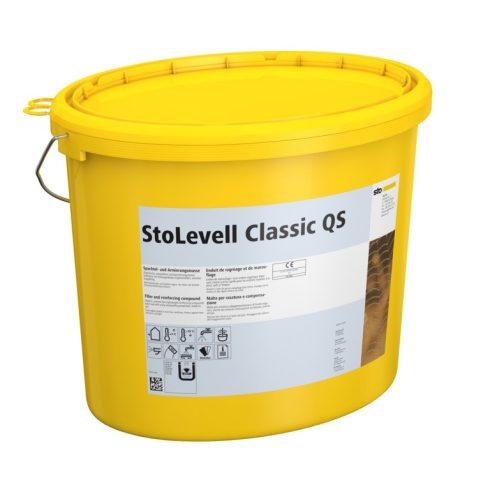 Homlokzat, Hőszigetelő rendszerek, Ragasztók, hálóágyazó anyagok, StoLevell Classic QS, ágyazóhabarc
