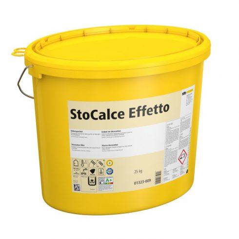 Beltér, Effektek és struktúrbevonatok, StoCalce Effetto, dekoratív beltéri fedővakolat, 25 kg, natur
