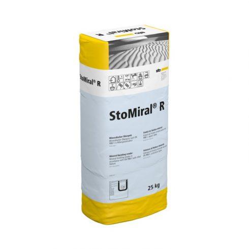 Beltér, Vékonyvakolatok, StoMiral® R - 1,5 mm, bel-és kültéri fedővakolat, 25 kg, fehér, 01385-001
