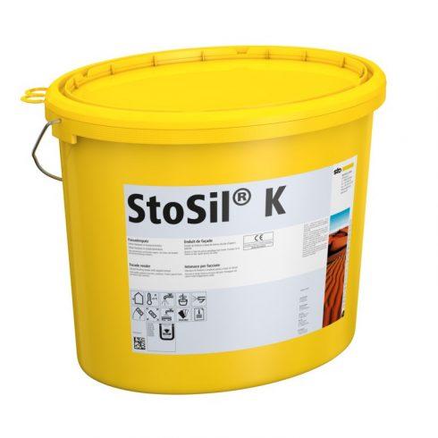 Homlokzat, Hőszigetelő rendszerek, Vékonyvakolatok, StoSil® K - 1,0 mm, merev fedővakolat, 25 kg, fe