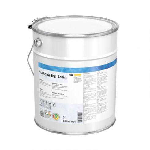 Lakk, lazúr, Lakkok, StoAqua Top Satin, vízzel higítható lakk, 2,5 l, többféle színben, 02399-005