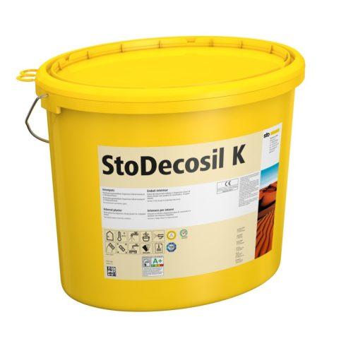 Beltér, Vékonyvakolatok, StoDecosil K 1,0, beltéri fedővakolat, 25 kg, fehér, 02809-001