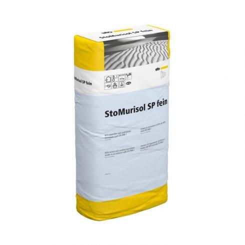 Beltér, Felújító rendszerek, StoMurisol SP fein, vakolat, 25 kg, szürke, 03773-012