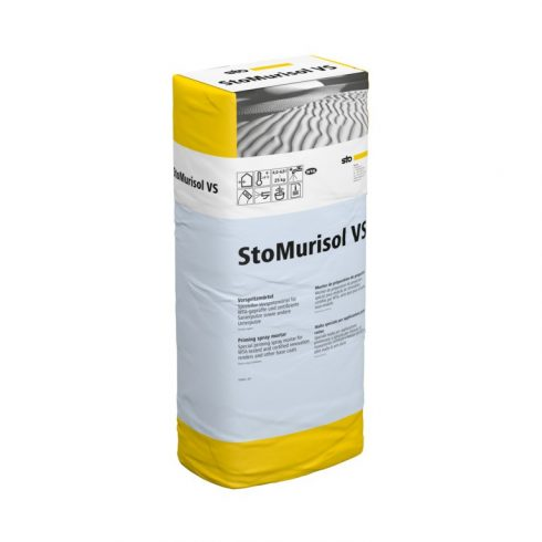 Beltér, Felújító rendszerek, StoMurisol VS, előfröcskölt habarcs, 25 kg, szürke, 03777-002