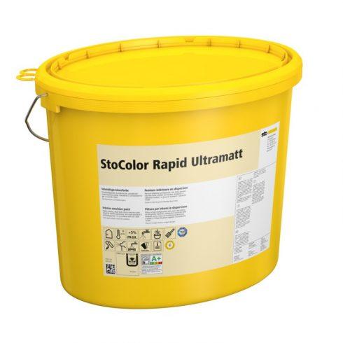 Beltér, Festékek, StoColor Rapid Ultramatt, ultramatt beltéri diszperziós festék, 15 l, fehér, 08109