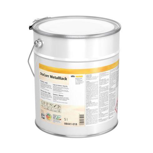Lakk, lazúr, Lakkok, StoCorr Metalllack, selyemfényű kül- és beltéri vastaglakk, 1 l, fehér, 08441-0