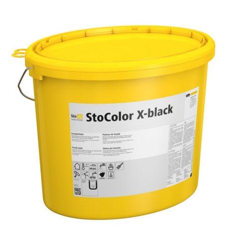 Homlokzat, Homlokzatfestékek, StoColor X-black, speciális homlokzatfesték, 5 l, színezett (matt) , 0