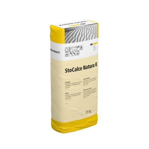 Beltér, Vékonyvakolatok, StoCalce Natura K 1,0, beltéri fedővakolat, 25 kg, fehér, 09546-001