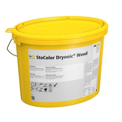 Homlokzat, Homlokzatfestékek, StoColor Dryonic® Wood, festék fára, 10 l, fehér, 09548-024