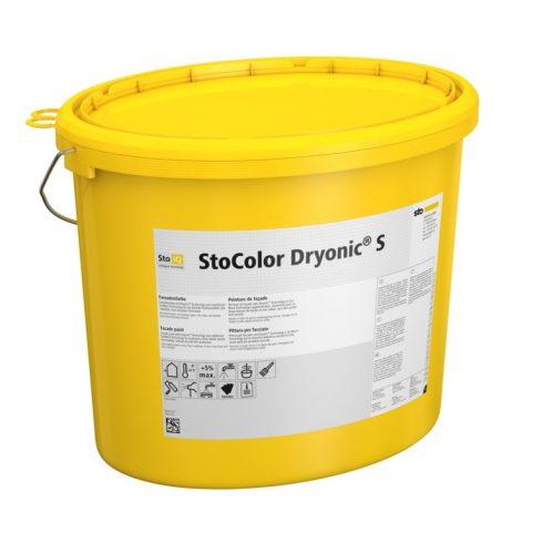 Homlokzat, Homlokzatfestékek, StoColor Dryonic® S  X-black, homlokzatfesték, 15 l, színezett, 09548-