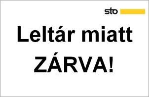 Figyelem! 2021. január 6-7-én leltár miatt ZÁRVA tartunk!
